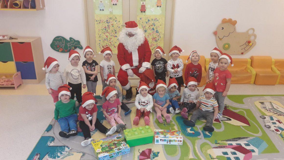 Mikołaj zawitał do Żłobka