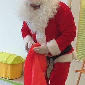 Mikołaj u Żabek